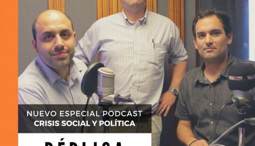 """Claudio Alvarado en """"Réplica"""": """"Cuando la credibilidad de la transición cae, también lo hace la Constitución"""""""