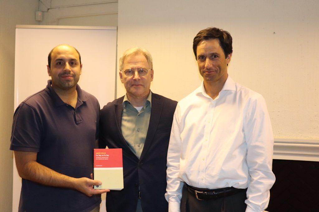 IES inicia nuevo ciclo de Lecturas de Fondo con el académico argentino Andrés Rosler